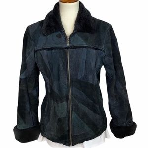 Leather Works Genuine Suede Leather Jacket